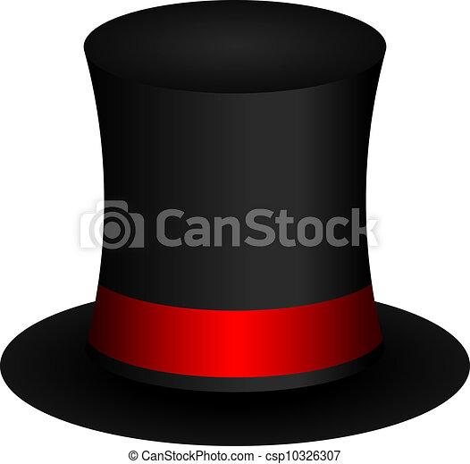 vector illustration of magic hat vector clipart search rh canstockphoto com Magic Wand Clip Art free magic hat clipart