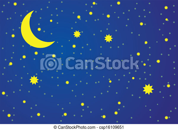 vector illustration of night sky clipart vector search rh canstockphoto ie christmas night sky clipart night sky clipart free