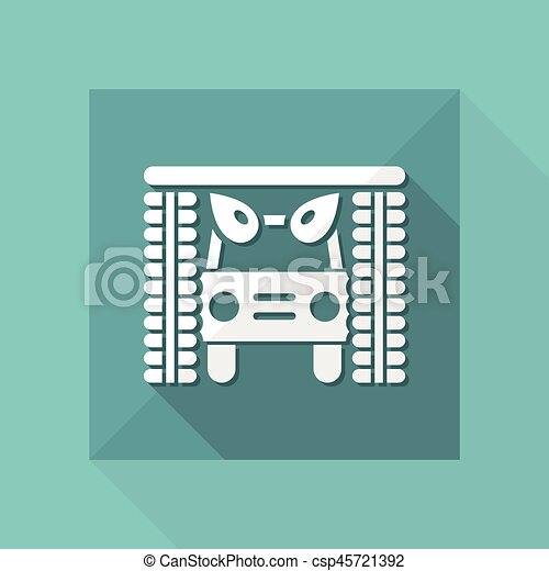 Vector illustration of single isolated icon - csp45721392