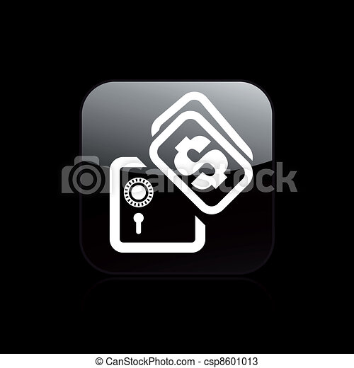 Vector illustration of single isolated safety box icon - csp8601013