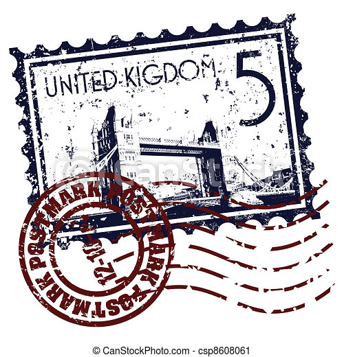 Vector illustration of single isolated UK icon - csp8608061