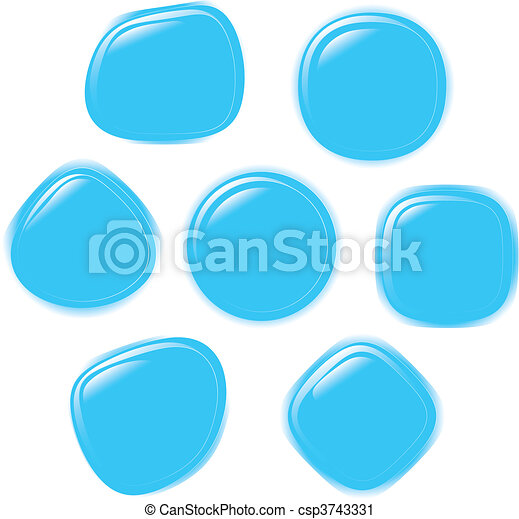 Vector illustration set of button - csp3743331