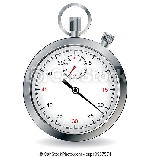 Stopwatch. Ilustración de vectores. - csp10367574