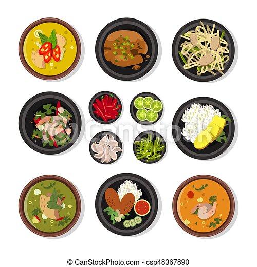 Thai Food Icon