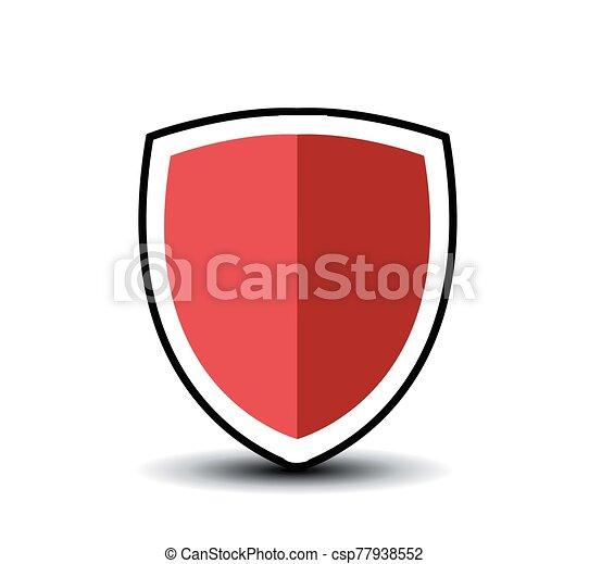 vector, ilustración, protector, símbolo, icono - csp77938552