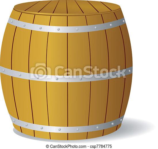 Vector image barrel - csp7784775