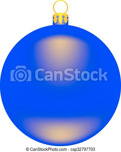 vector image Christmas-tree toy - a - csp32797703