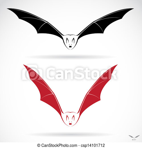 Vector image of an bat - csp14101712