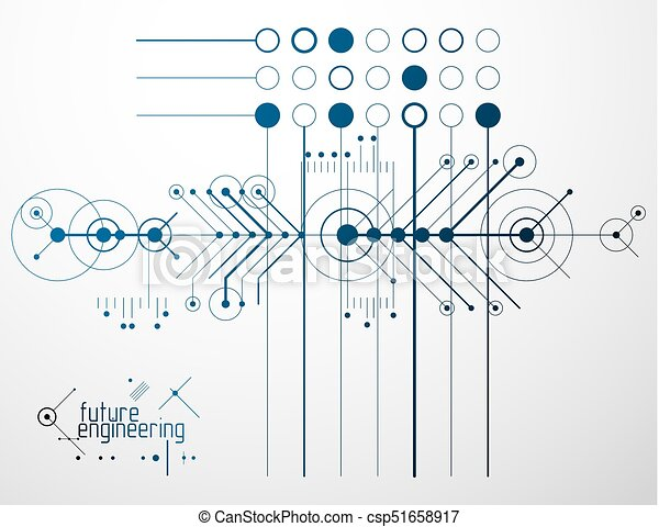 Vector industrial and engineering background future vector clip vector industrial and engineering background future technical plan abstract blueprint of malvernweather Image collections