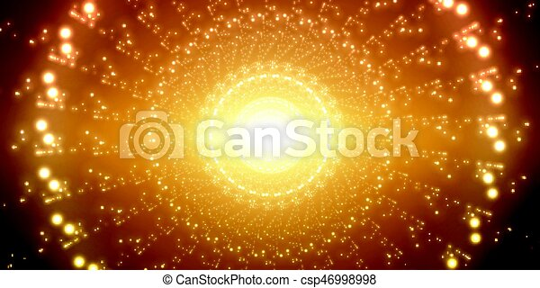 Vector infinite space background. - csp46998998