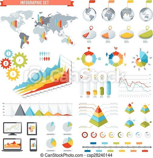 Vector Infographics set - csp28240144