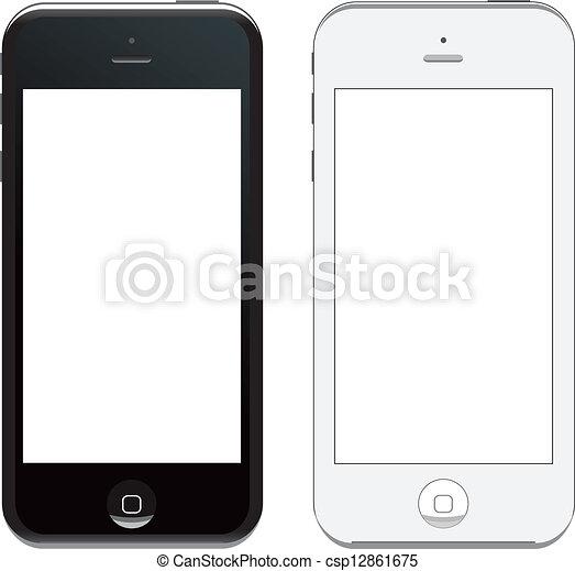 vector iphone 5 - csp12861675