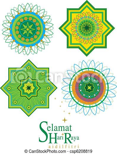 Vector Islamic Pattern - csp6208819