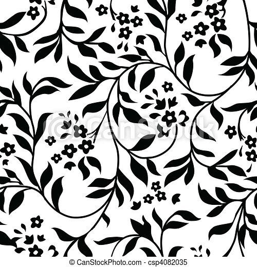 Vector Ivy Pattern - csp4082035