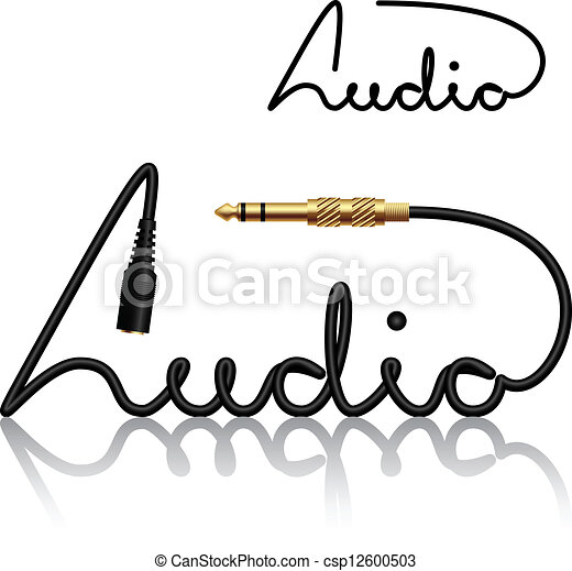 vector jack connectors audio calligraphy vector clipart search rh canstockphoto com calligraphy vector design calligraphy vector frame