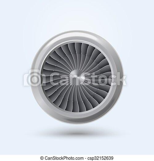 Vector Jet Engine - csp32152639