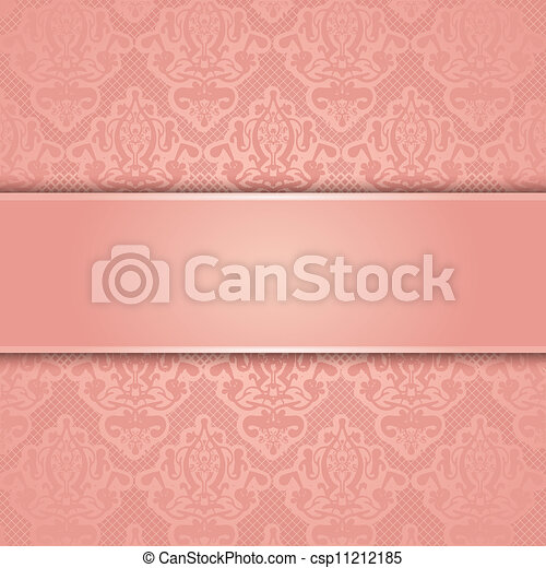Vector lace background - csp11212185