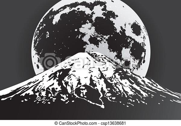 vector landscape - csp13638681