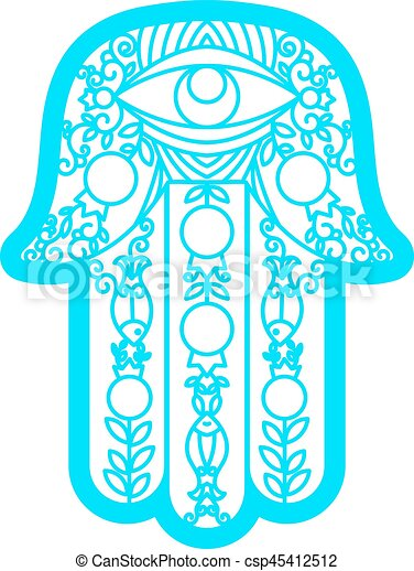vector laser cutting template hamsa laser cutting template greeting