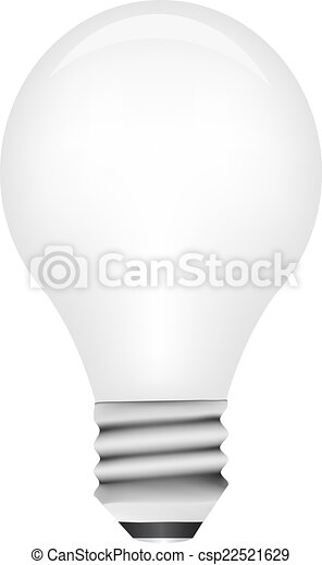 Vector light bulb - csp22521629