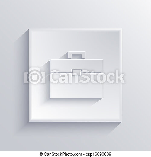 Vector light square icon. Eps 10 - csp16090609