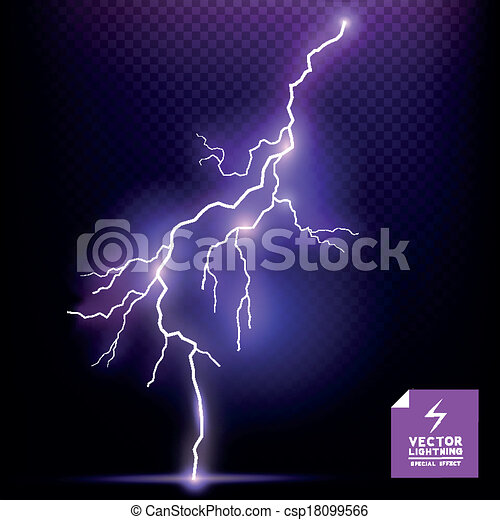 Vector Lightning Effect - csp18099566
