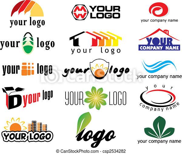vector logo elements - csp2534282