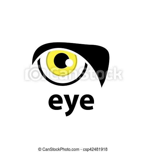 vector logo eye logo design template eye vector illustration of icon