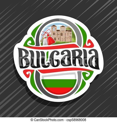 Vector logo for Bulgaria - csp58968008