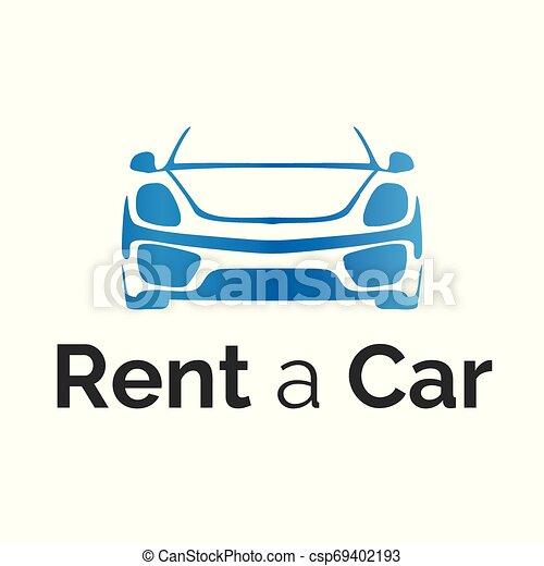 Vector Logo For Car Rental And Sales Vector Logo For Car Rental