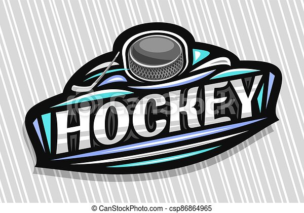 Vector logo for Ice Hockey - csp86864965