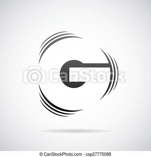 Vector Logo For Letter G Design Template