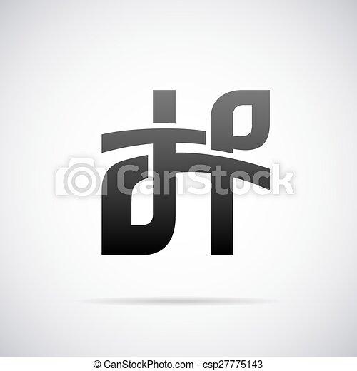 vector logo for letter h design template