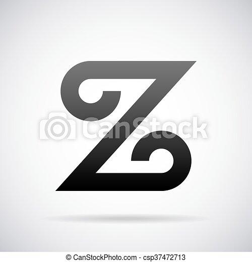 Vector Logo For Letter Z. Design Template