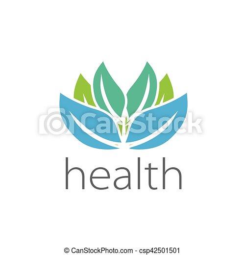 vector logo health - csp42501501