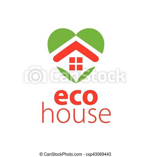 vector logo house - csp43069443