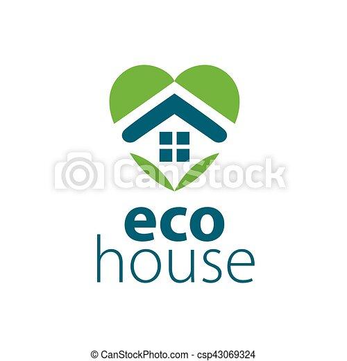vector logo house - csp43069324