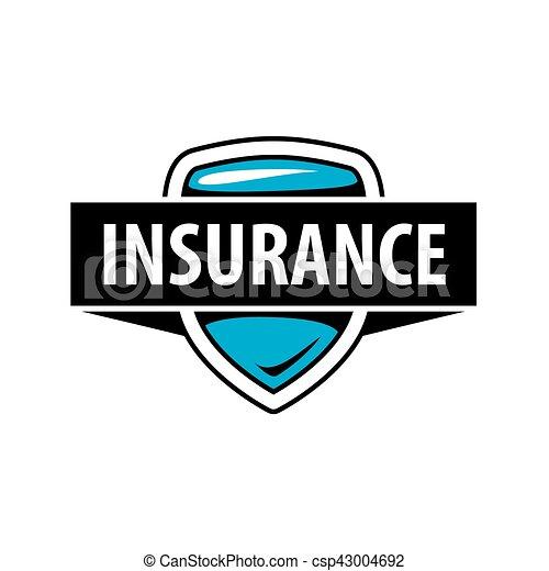 insurance logo template  Vector logo template for an insurance company. Template design logo ...