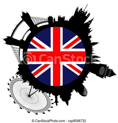 Vector London skyline - csp9596732