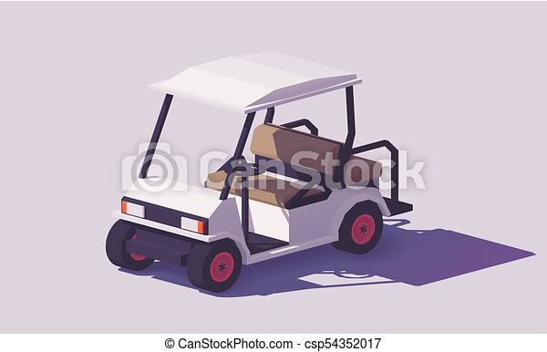 Vector low poly golf cart. Vector low poly clic white golf cart. on gps clipart, wheel clipart, honda clipart, heavy equipment clipart, beverages clipart, golf hole, utility clipart, truck clipart, computer clipart, commercial clipart, van clipart, car clipart, boat clipart, golf silhouette, tools clipart, side by side clipart, umbrella clipart, kayak clipart, utv clipart, construction clipart,