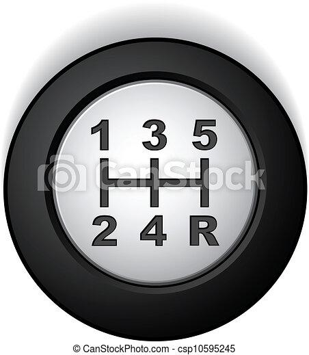 vector manual gear shifter - csp10595245