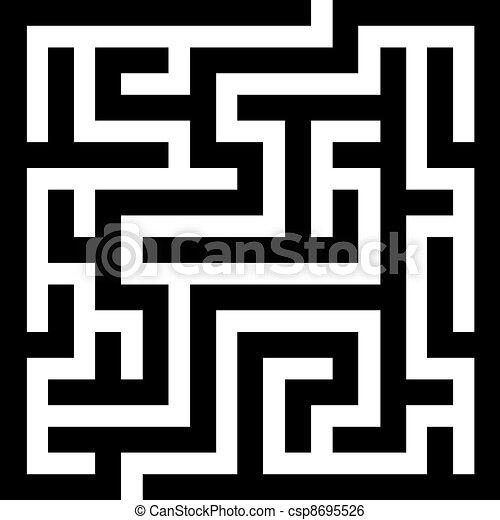 vector maze - csp8695526