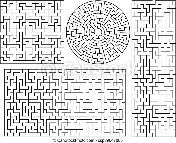 Math Maze Template by Emily Hill | Teachers Pay Teachers