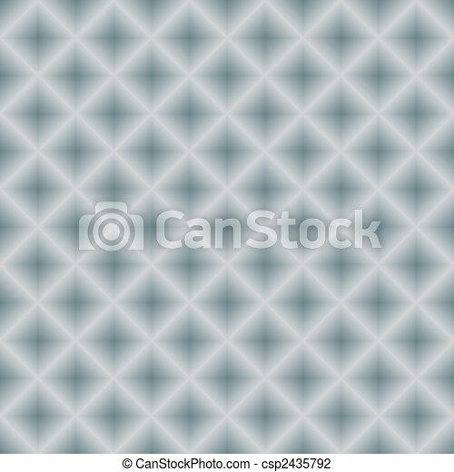 (vector), metallo, seamless, argenteo, fondo, geometrico - csp2435792