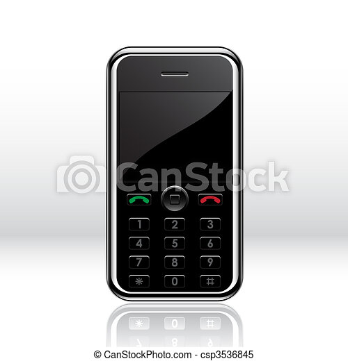 Vector mobile phone - csp3536845