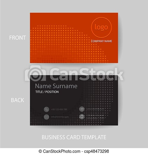 Vector modern and clean business card design template vector modern vector modern and clean business card design template colourmoves