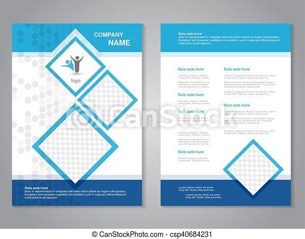 Vector modern brochure - csp40684231