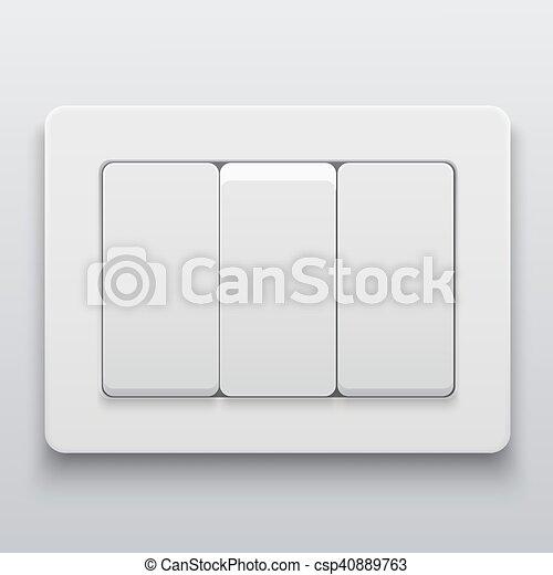Modern Light Switches >> Vector Modern Light Switch Icon Background Vector Modern Light