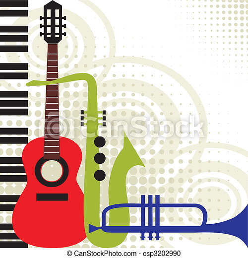 Vector music instruments - csp3202990
