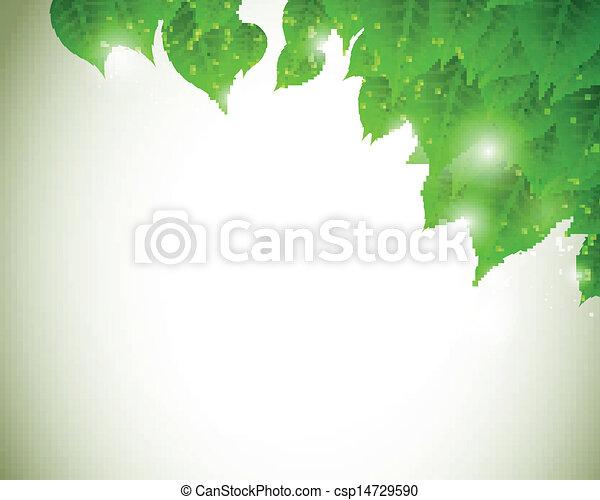 Vector Nature Background  - csp14729590